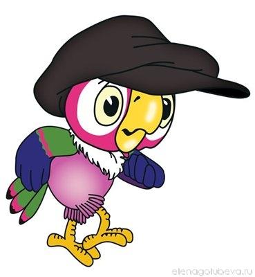 Анекдот про попугая охуенно день прошел фото 740-585