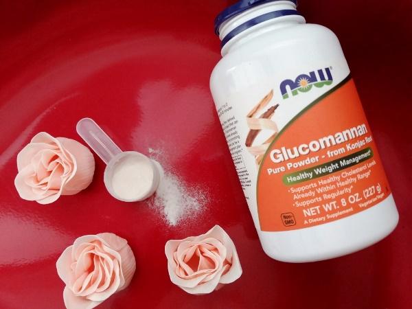 Now Foods, Глюкоманнан, чистый порошок, 8 унций