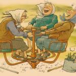 веселые бабульки открытка