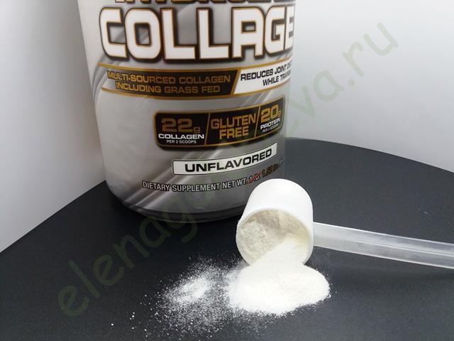 Muscletech, 100% гидролизованный коллаген Platinum, без вкусовых добавок, 1,52 фунта (692 г)